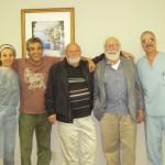 Dr Seraj, Dr Ramo ,Dr Sims , Dr Stein & Dr Camhi