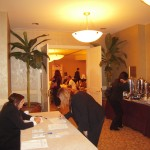 Registration at the hyatt Ramo Seminar